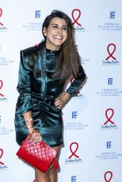 Reem Kherici - Fashion Dinner for AIDS Sidaction Association in Paris 01/23/2020