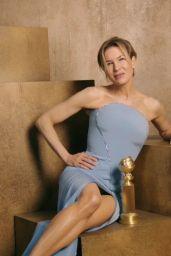Renée Zellweger - Golden Globes 2020 Official Portrait