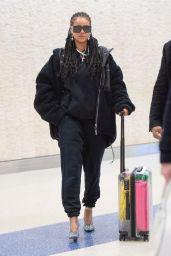 Rihanna - JFK Airport in New York City 01/16/2020