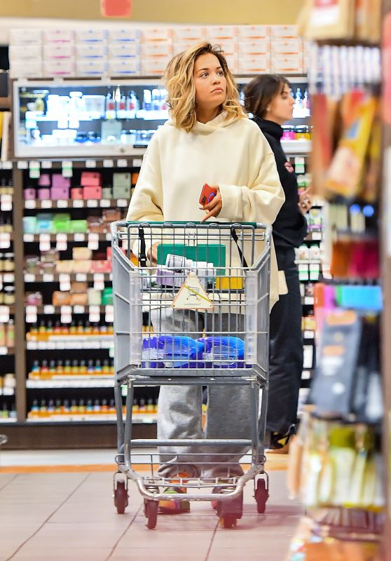 Rita Ora - Grocery Shopping 01/02/2020