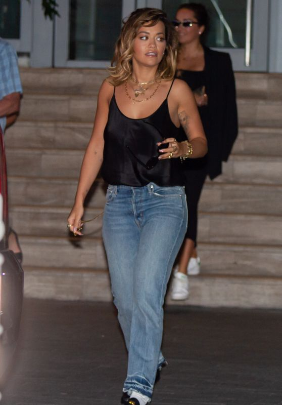 Rita Ora - Leaving Her Hotel in Miami Beach 01/11/2020