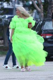 Rita Ora - Shooting a Deichmann Collection Ad in Miami