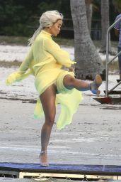 Rita Ora - Shooting a Video in Miami 01/10/2020