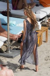 Romee Strijd - Poses for a Victoria Secret Photoshoot in St. Barts 01/25/2020