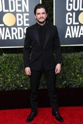 Rose Leslie and Kit Harington – 2020 Golden Globe Awards