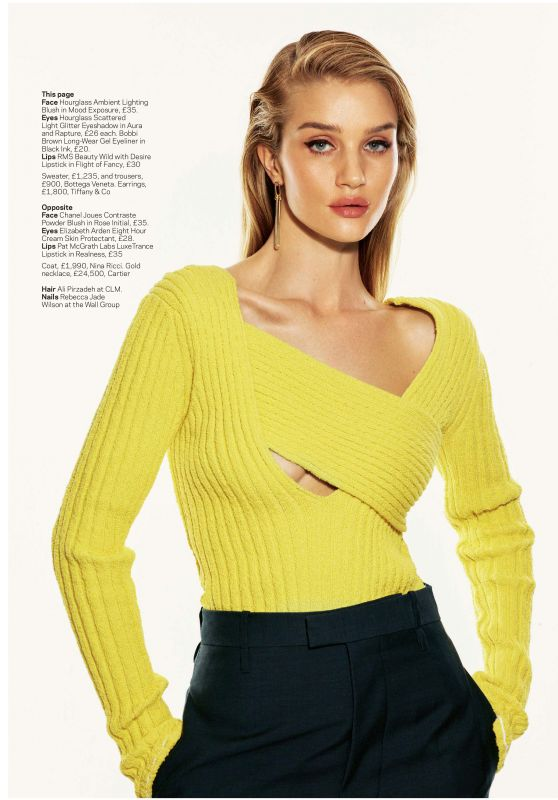 Rosie Huntington-Whiteley Outfit – STYLE Magazine 01/19/2020 (Part VII)