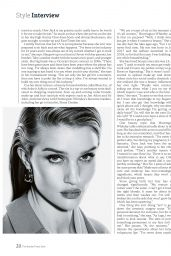Rosie Huntington-Whiteley - The Sunday Times STYLE Magazine 01/19/2020 Issue