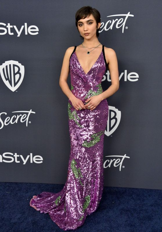 Rowan Blanchard – 2020 Warner Bros. and InStyle Golden Globe After Party
