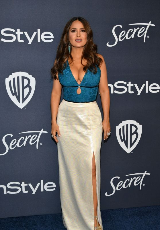 Salma Hayek – 2020 Warner Bros. and InStyle Golden Globe After Party