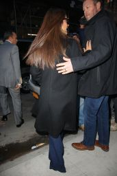 Salma Hayek - Watch What Happens Live in NYC 01/08/2020