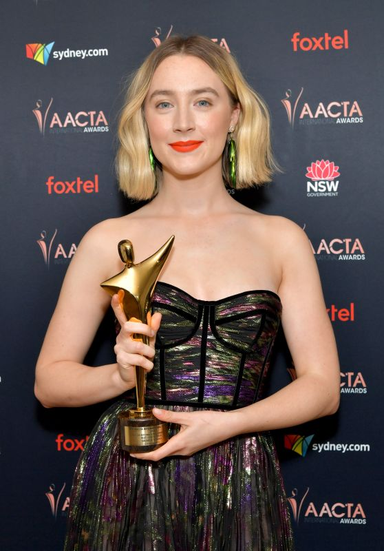 Saoirse Ronan – 2020 AACTA International Awards