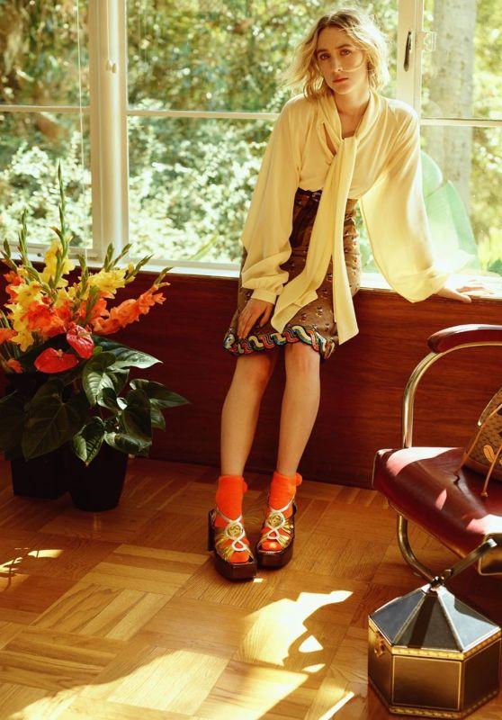 Saoirse Ronan - Vogue Magazine Korea January 2020 Photos (Part II)