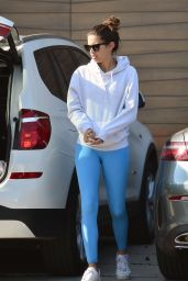Sara Sampaio in Spandex - Heading to the Gym in LA 01/16/2020