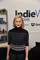 Sarah Gadon – Deadline Sundance Studio in Park City 01/25/2020