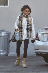 Sarah Hyland Cute Street Style - Out in Studio City 01/13/2020