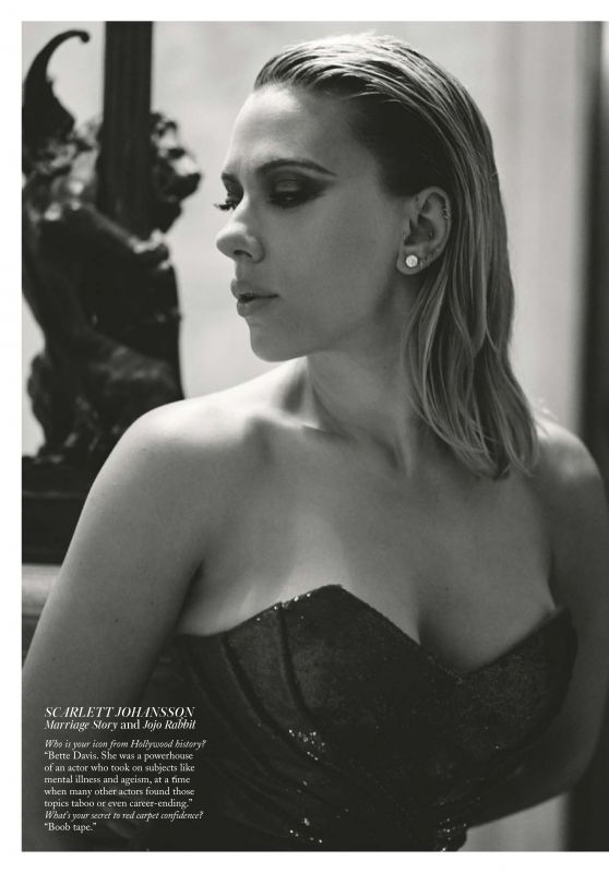 Scarlett Johansson – Vogue UK February 2020