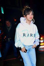 Selena Gomez - Heads to Bang Bang Tattoo Parlor in NYC 01/14/2020