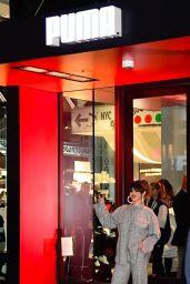 Selena Gomez - Leaving the Puma Store in NYC 01/14/2020