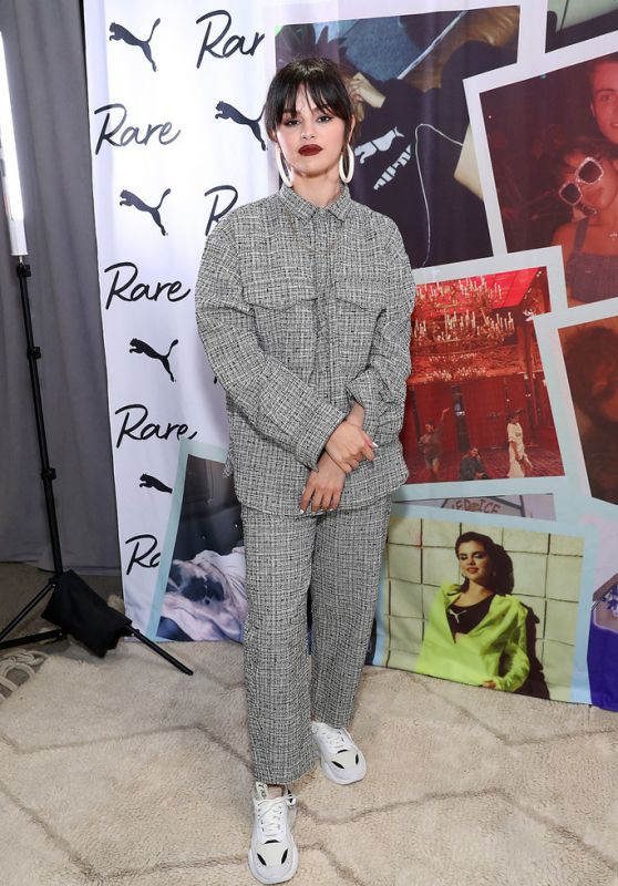 Selena Gomez - Meet & Greet with Selena Gomez at PUMA Flagship in NYC 01/14/2020