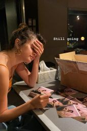 Selena Gomez - Social Media 01/07/2020
