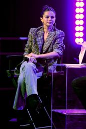 Selena Gomez - Speaks on Stage at the iHeartRadio Album Release Party with Selena Gomez 01/09/2020