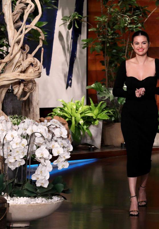 Selena Gomez - The Ellen DeGeneres Show in Burbank 01/24/2020