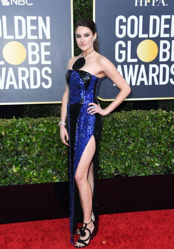 Shailene Woodley – 2020 Golden Globe Awards