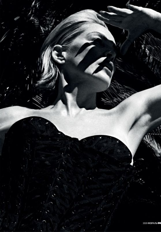 Sharon Stone - GQ Magazine Russia February 2020 Issue