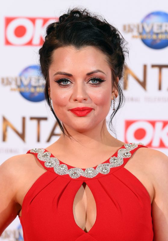 Shona McGarty – National Television Awards 2020 in London