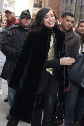 Sofia Carson - Outside BUILD Series in NYC 01/30/2020