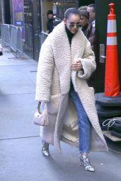 Sofia Carson Winter Style - NYC 01/29/2020