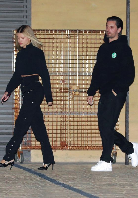 Sofia Richie and Scott Disick - Nobu Restaurant in Malibu 01/09/2020