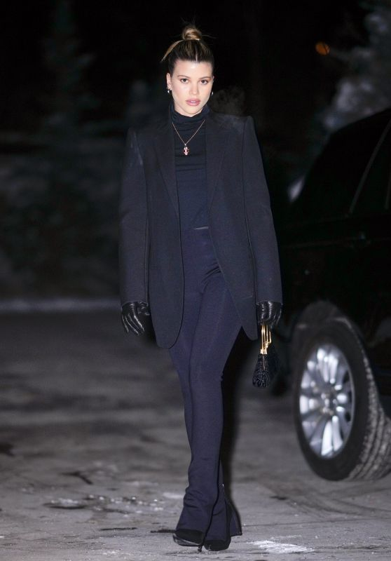 Sofia Richie - New Years Eve in Aspen 12/31/2019