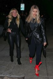Sofia Richie Night Out Style 01/10/2020