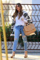 Sofia Vergara Street Style - Kreation Organic in Beverly Hills 01/13/2020
