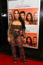 Sophie Kasaei - Celebrity Ex on the Beach Cast Celebrate the Launch of Their New Show in London 01/21/2020