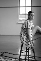 Sophie Nélisse - La Semaine Magazine January 2020 Photos