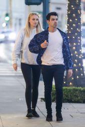 Sophie Turner and Joe Jonas - Leaving Their Hotel in Beverly Hills 01/23/2020