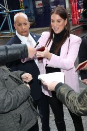 Stephanie McMahon - Arrives at BBC Studio in London 01/15/2020