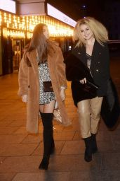 Tallia Storm and Emily Canham – Leaving Top Gear Series 28 TV Premiere in London 01/22/2020