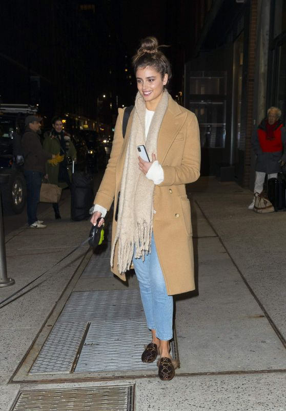 Taylor Hill - Leaving The Milk Studios in NYC, January 2020