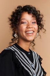 Taylor Russell – BAFTA Los Angeles Tea Party Portraits 01/04/2020