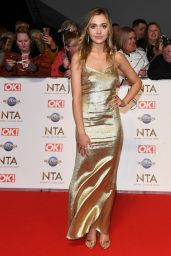 Tilly Keeper – National Television Awards 2020 in London