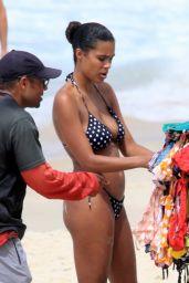 Tina Kunakey in a Bikini on the Beaches of Rio 01/29/2020