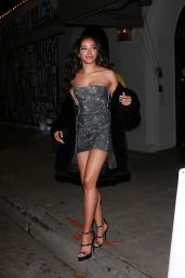 Tinashe Night Out Style - Outside Craig