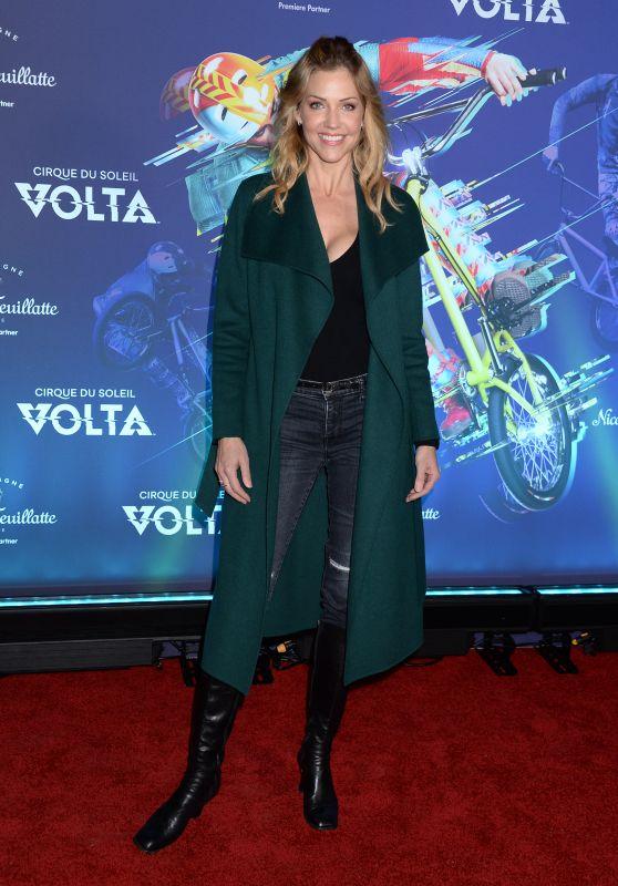 Tricia Helfer – Cirque du Soleil VOLTA Premiere in LA
