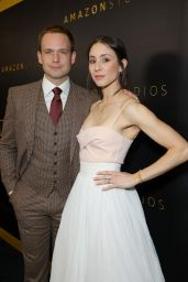 Troian Bellisario and Patrick J. Adams – Amazon Studios 2020 Golden Globe After Party