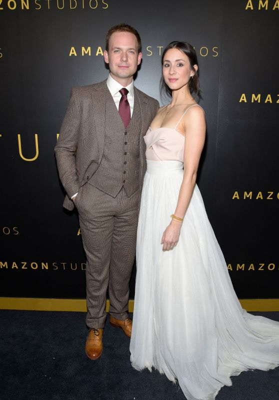 Troian Bellisario and Patrick J. Adams – Amazon Studios 2020 Golden Globe After Party