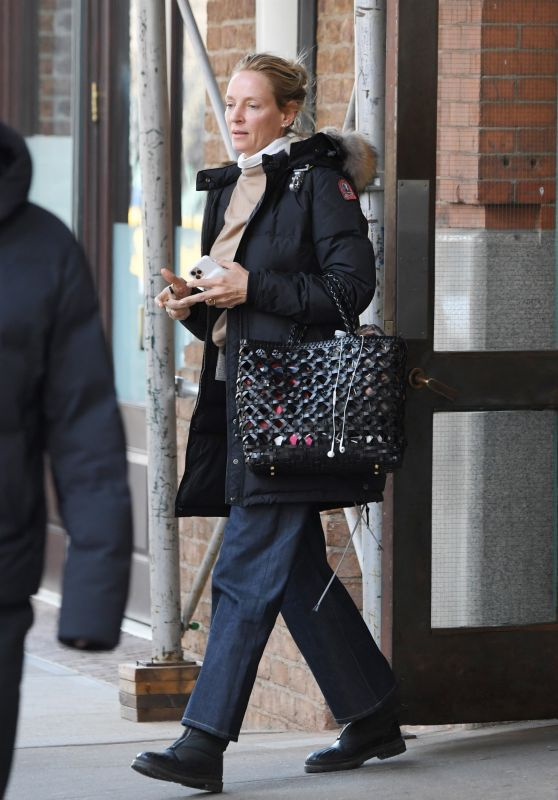 Uma Thurman - Out in NY 01/30/2020