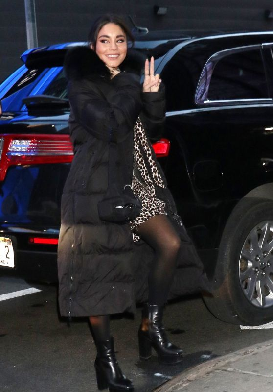Vanessa Hudgens - Arrives at GMA in NY 01/17/2020